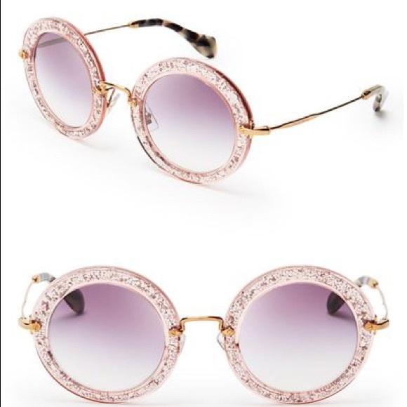8325e9f04d8 Miu Miu Pink Noir Round Sunglasses. M 5bf1e44f3e0caafc4ba94ebc. Other  Accessories ...